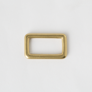 Solid Brass Oblong Ring Antique Finish